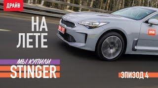 KIA Stinger 2018 // DRIVE