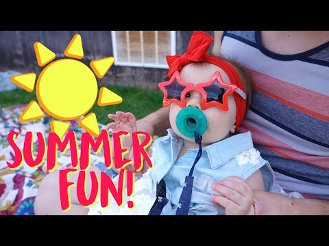 Baby Micah's Best Day of Summer!