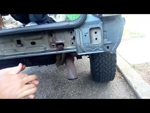 Nut strip problem with Smittybilt Cherokee bumper