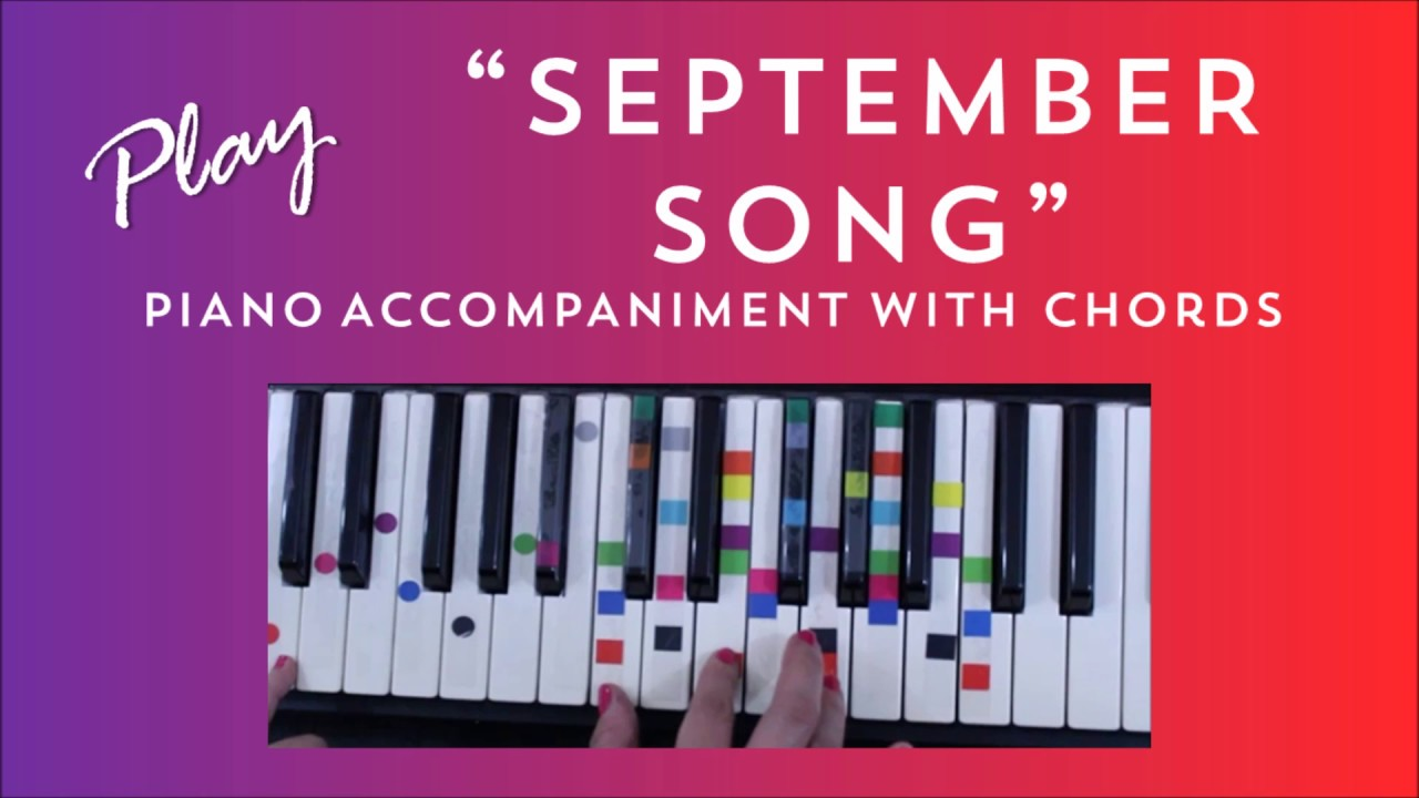 How To Play Sing September Song - JP Cooper | Easy PIano