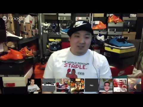 KickCast #2: Live Sneaker Chat w/ CollectiveKicks.com Writers & Heskicks