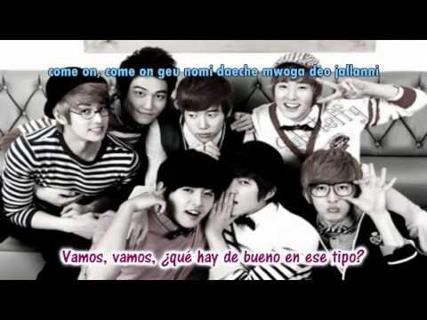 U Kiss    Baby don't cry Sub español