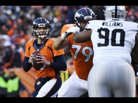 Trevor Siemian finds wide open Virgil Green for TD vs Raiders Week 17