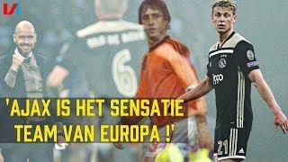 Buitenlandse Media: Ajax Wint de Champions League & Frenkie de Jong Loopt Zelfs Als Johan Cruijff