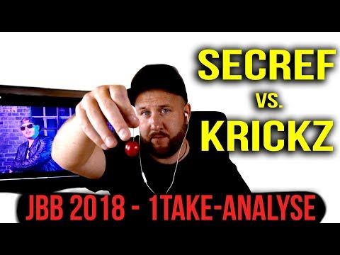 KRICKZ vs. SECREF | JBB 2018 - ONE.TAKEE | 16tel-Finale