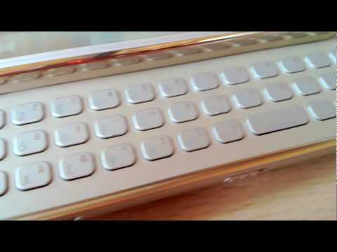 Nokia N97 mini Gold edition - unboxing & overview - Test-Mobile.fr