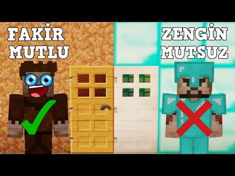 ZENGİN VS FAKİR #54 - (Minecraft Dizisi)