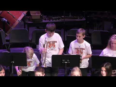 Friday Harbor Middle School Winter Band Concert (December 17, 2019)