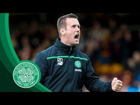 Celtic FC - Ronny Roars at Fir Park