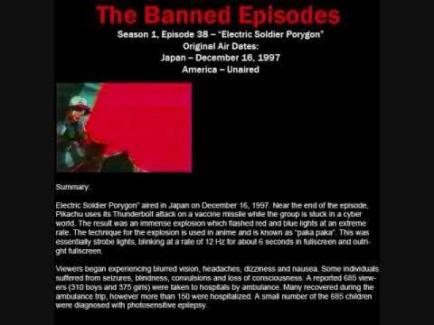 Banned Pokemon Seizure Episode