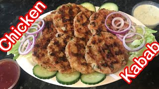 Grilled Chicken kabab  easy kabab recipe  Rubys Life