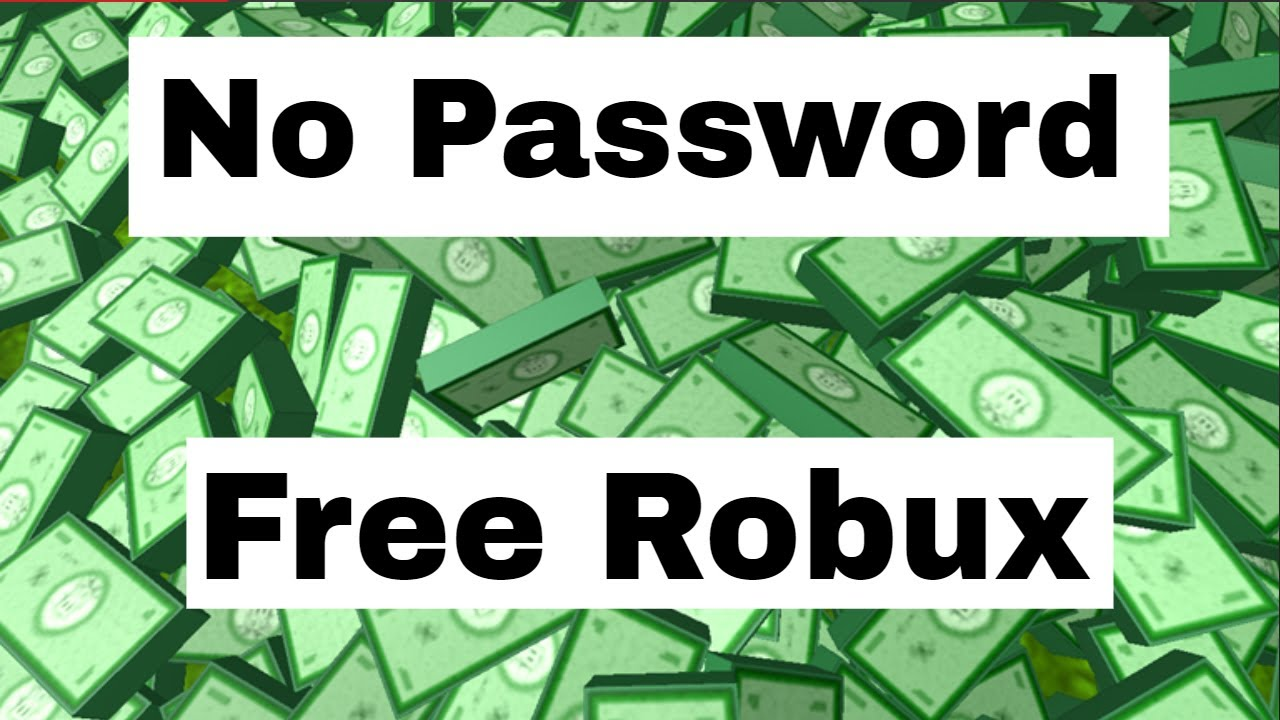 How To Get Free Robux In 2017 Without Entering Passwords Up