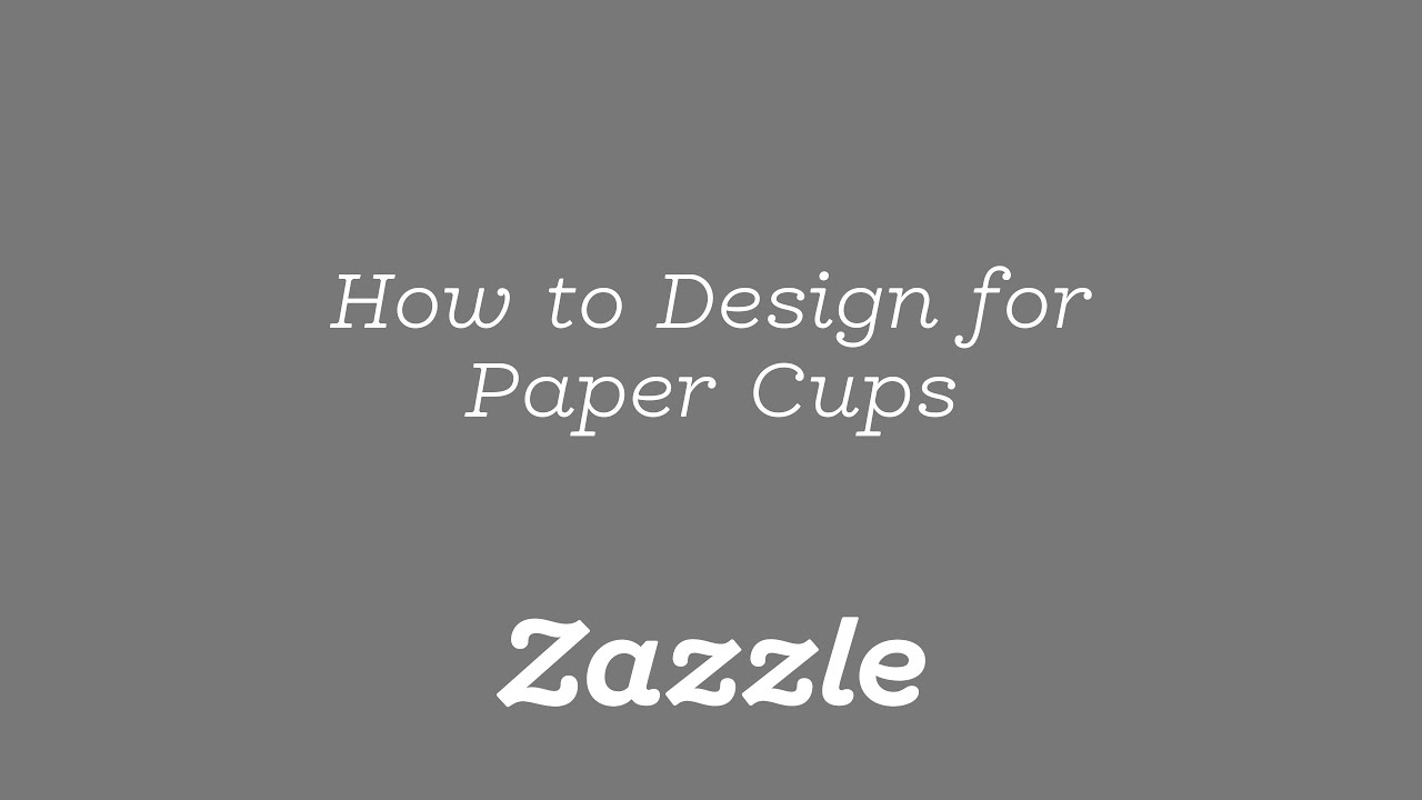 how to design for paper cups tutorial youtube