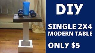 Baixar DIY - Single 2x4 Modern Table Design / Build