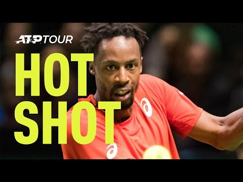 Hot Shot: Monfils' Incredible Defence vs. Goffin In Rotterdam 2019