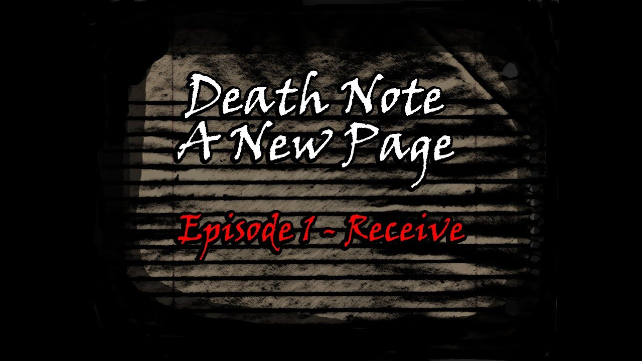 how to make a death note notebook