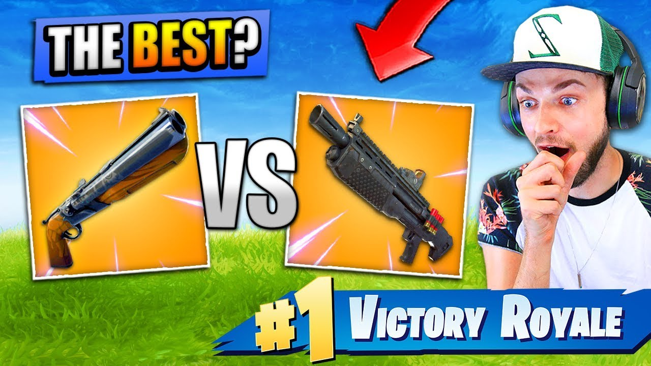 Which LEGENDARY shotgun is the *BEST* in Fortnite: Battle Royale?