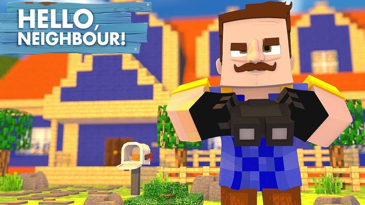 Minecraft Hello Neighbor Bölüm 1 Youtube