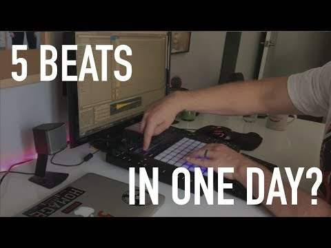 CAN I MAKE 5 BEATS IN ONE DAY?
