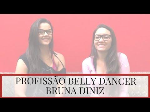 Profissões em DUBAI!  BELLY DANCER com BRUNA DINIZ!