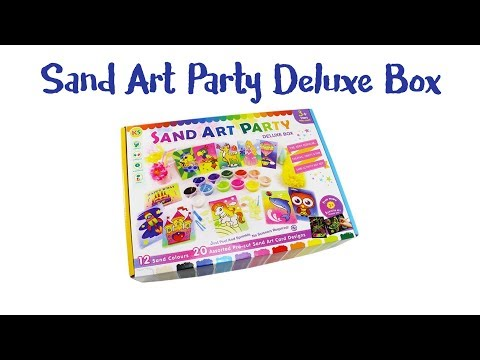 Sand Art For Kids - Party Pack Owl Sand Crafting