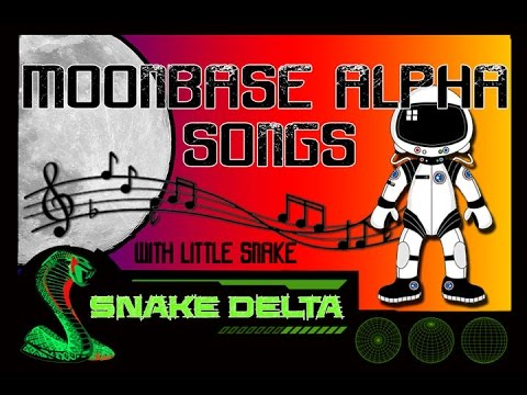 Moonbase Alpha Songs ♫ funny singing moments rubbishjokes with 👽 Little Snake 🌎♫ ✔