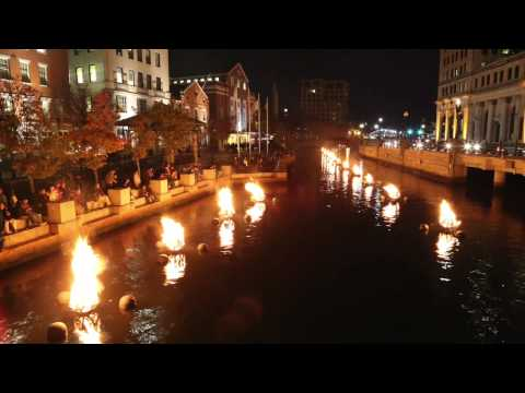 Inspiration Ignited | Waterfire Providence Timelapse