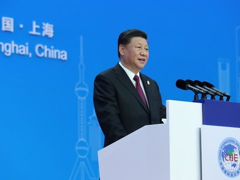 《今日点击》美媒:习近平首届进博会 表明中美贸易冲突加剧
