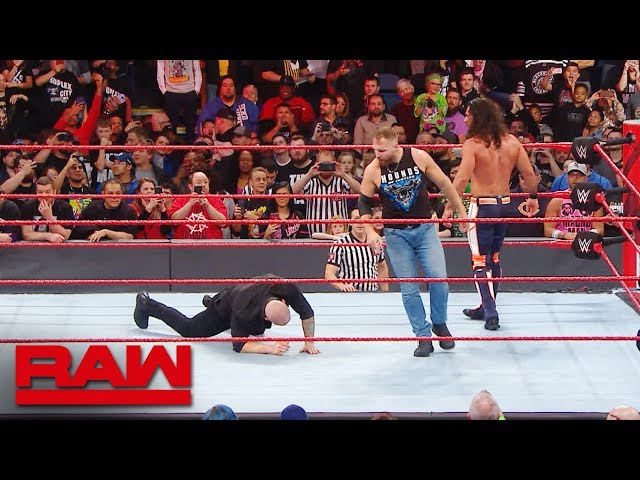 What you didnt see after Raw went off the air: Raw Exclusive, March 18, 2019