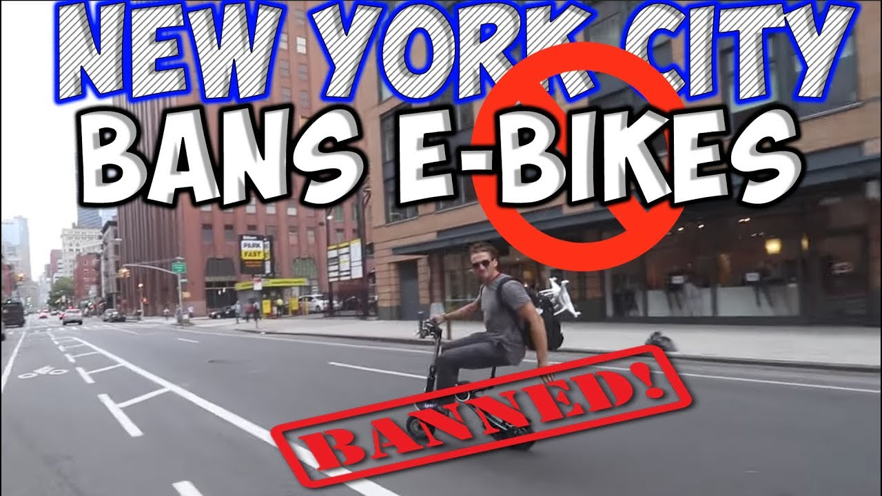 NEW YORK CITY BANS EBIKES AND BOOSTED BOARDS \/ ELECTRIC SKATEBOARDS  RIDICULOUS NEW LAW  YouTube