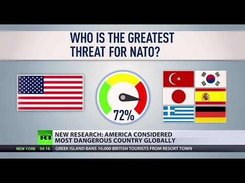 Know Your Enemy: US considered most dangerous country globally