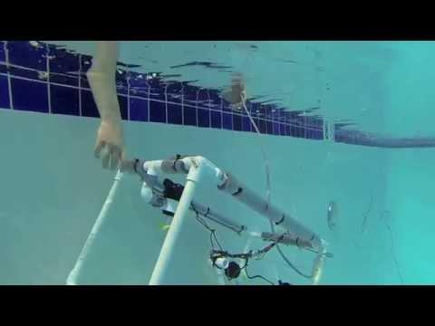 Cheldelin Middle School Under Water Robot Test