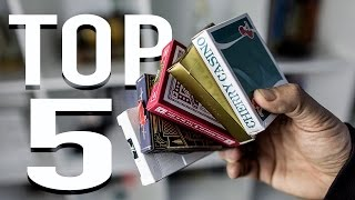 BEST PLAYING CARDS - TOP 5