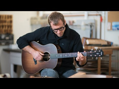 Taylor Grand Pacific Series Guitars   Overview with Master Builder Andy Powers