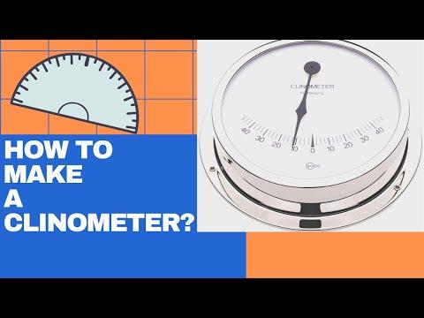 How To Make A Clinometer | Application Of Trigonometry | Construction Of A Clinometer
