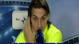 champions league inter 3 barcellona 1 intervista a zlatan ibrahimovic