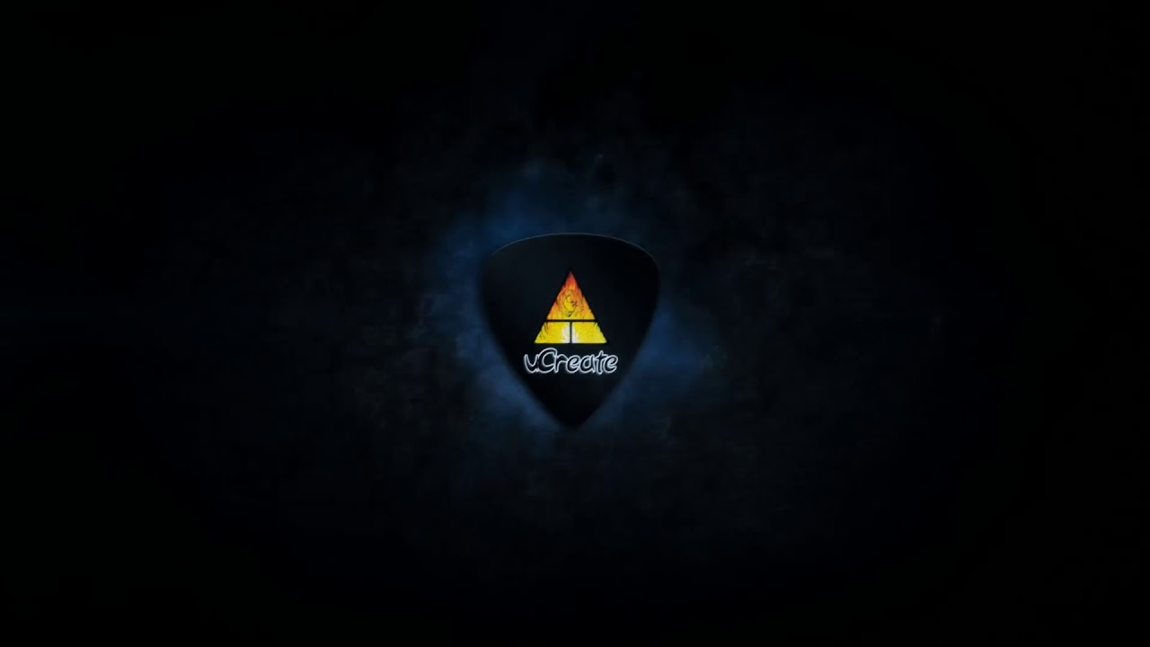Guitar Pick Design Intro Free Intro Template After Effects