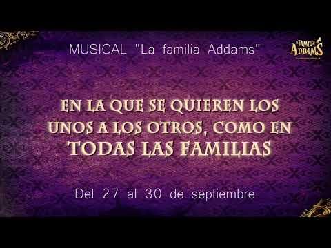 LA FAMILIA ADDAMS EN EL PALACIO DE FESTIVALES