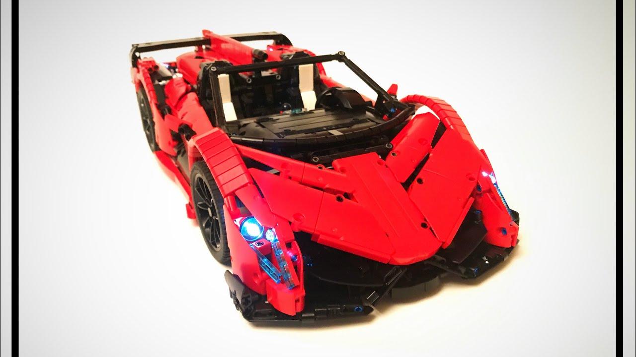 Lamborghini Veneno Roadster 50th Anniversary Edition Lego