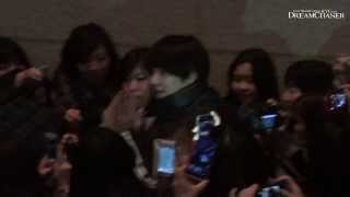 [HD FANCAM] 140118 Kyuhyun after 'The Moon that Embraces the Sun'