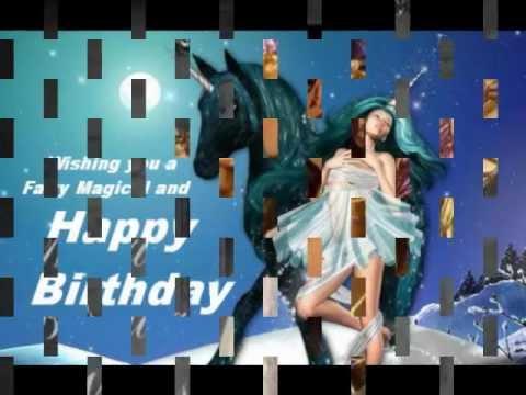 Happy Birthday  (Fairy Style)