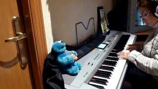 Tutorial Killing me softly Piano Thomann sp5500. (matame suavemente)....