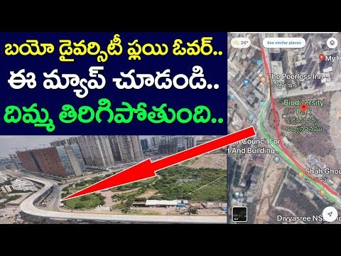 Map Of Biodiversity Flyover Hyderabad Revealing Sensational Facts