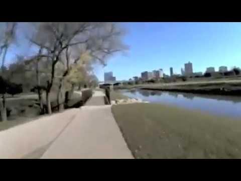 Fort Worth Trinity River Bike Trail Youtube