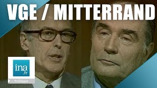 Débat 1981 :  Giscard / Mitterrand - Archive INA