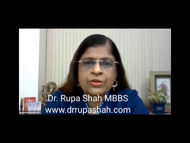 Holistic perception and integrated approach to healing. Dr. Rupa Shah