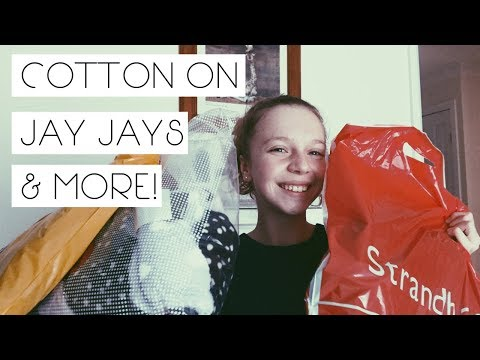 HAUL//COTTON ON, JAY JAYS & MORE!👕📚🌵