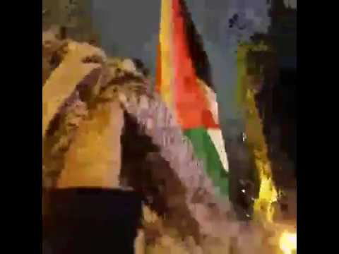 Students for Justice in Palestine Call For Intifada At Anti-Trump Protest