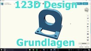 3D-Modelle erstellen (123D Design, QCad)