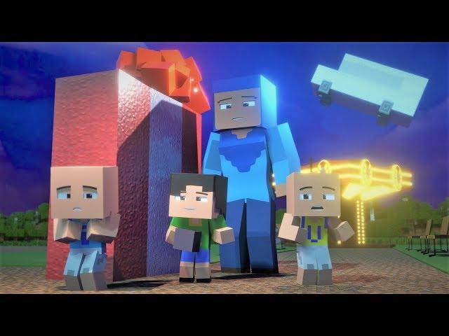 Upin & Ipin - Taman Riang Ria 5 ( Minecraft Animation )